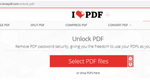 delete password PDF